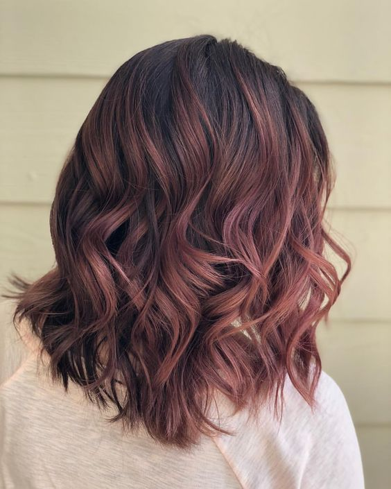 Girls Short Hair Gradient Hair Style Picture Gradient Color
