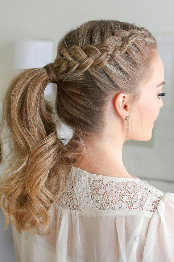34 Cute Easy Braided Hairstyles For Beautiful Women Page