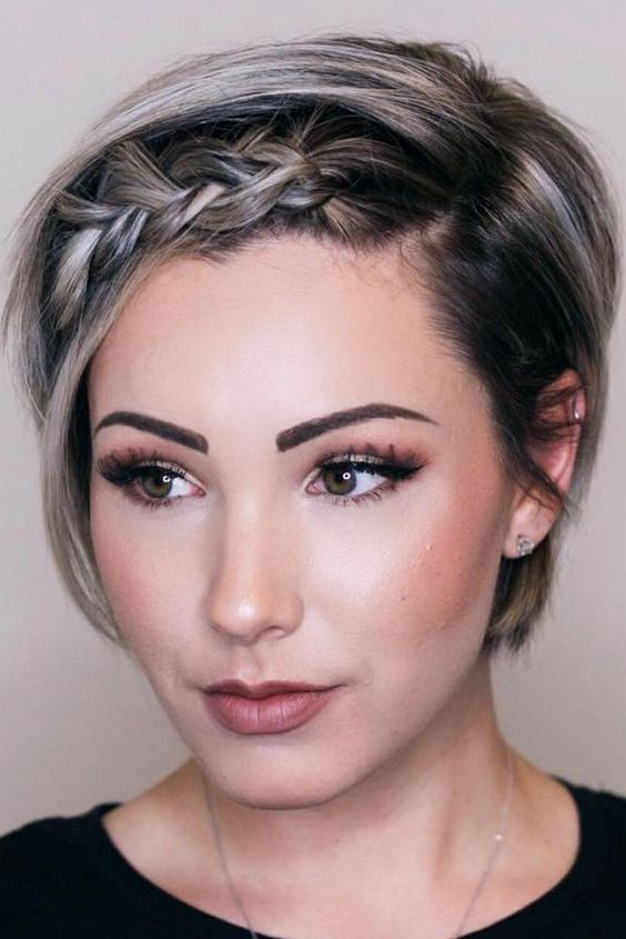 Braided Hairstyles For Short Hair That Look So Sexy Dazhimen