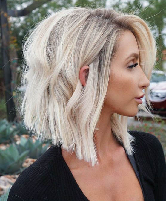 Wavy Blonde Short Hairstyle Ideals For Beauty Dazhimen