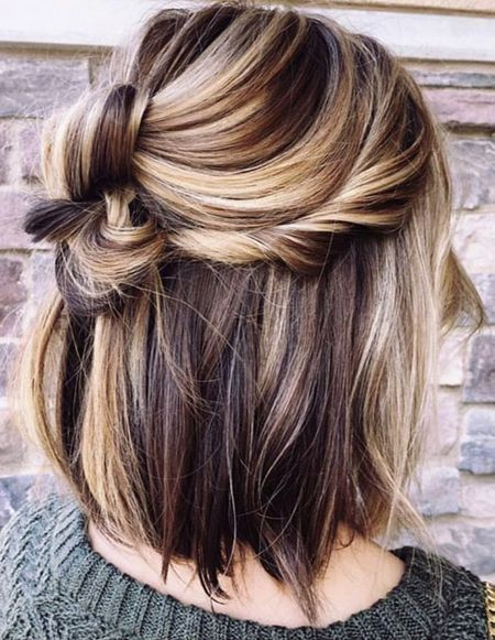 50 Hottest Easy Medium Length Hair Trends In Every Color For 2019