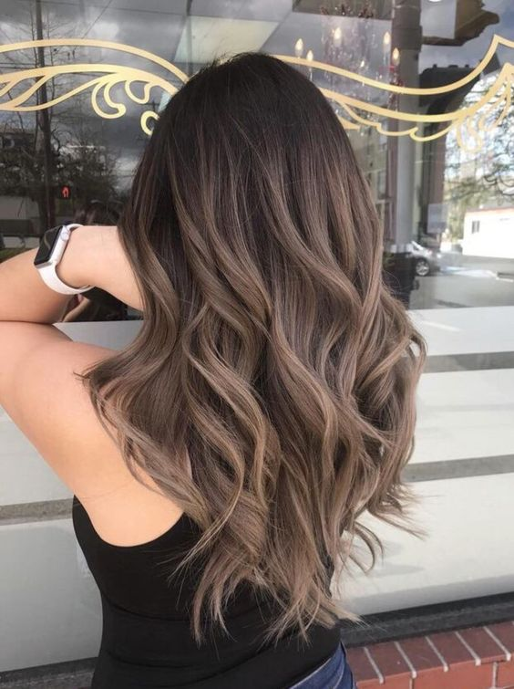 Perfect Examples Of Brunette Haircolor 第9页 Dazhimen