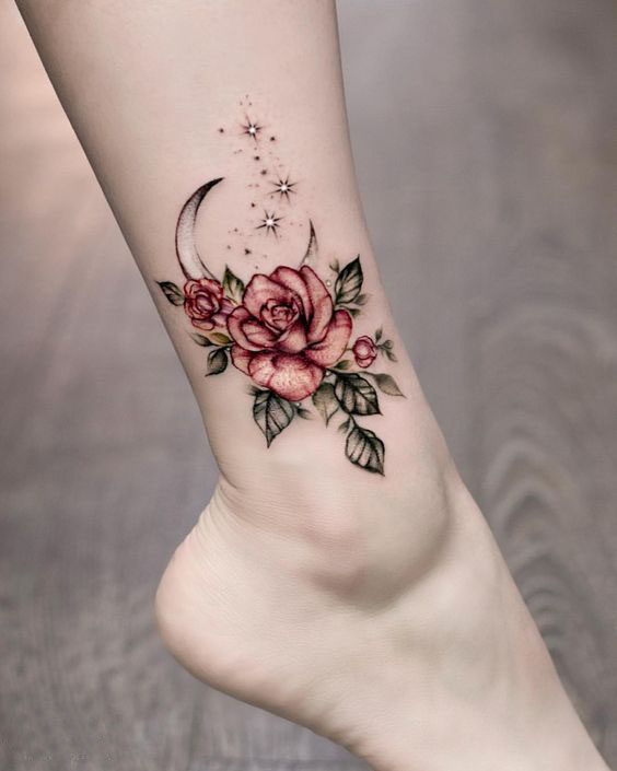 Small Flower Tattoos Reminiscent Of Many Wonderful Things