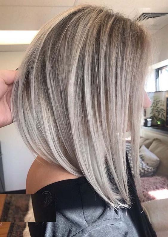 Worth Showing Off Ash Blonde Balayage Haircolor And Haircuts
