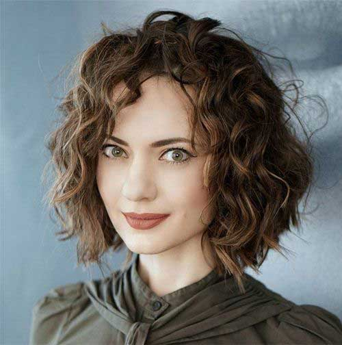 Check Out The Best Short Curly Hairstyles For Women Page