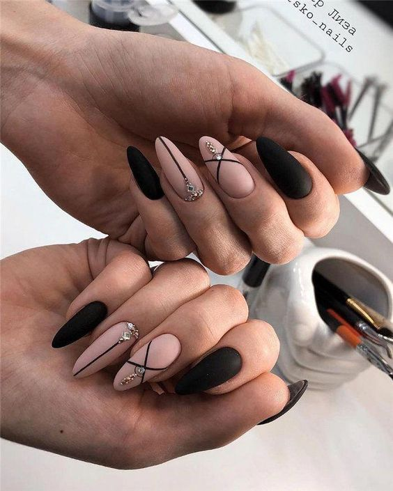 Lovely Simple Bright Nail Design 2019 Page 9 Dazhimen